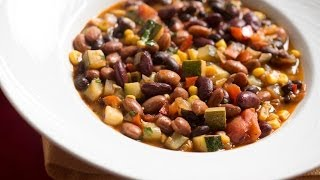 Vegetarian Chili With Three Beans