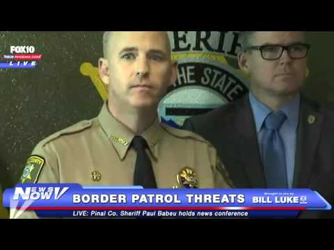 Sheriff Babeu Talks Border Patrol Threats and Immigration - FULL NEWS CONFERENCE