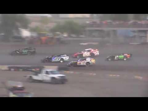 Nodak Speedway IMCA Sport Mod B-Main (Motor Magic Night #1) (9/2/17)
