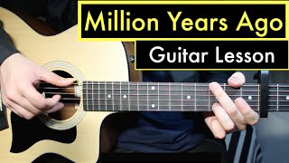Adele - Million Years Ago | Guitar Lesson (Tutorial) Chords