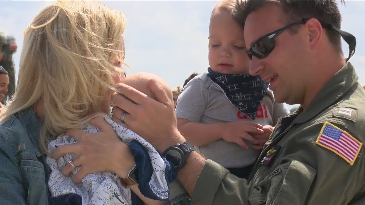 Welcome back: Four squadrons return home to Naval Air Station Lemoore
