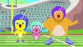 Eena Meena Deeka | Down The Bowling Alley | Funny Cartoon Compilation | Cartoons for Children