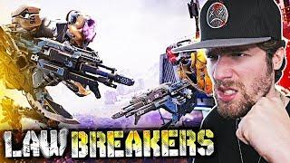 SKILLED AF PLAYERS ONLY.. (LawBreakers Gameplay)