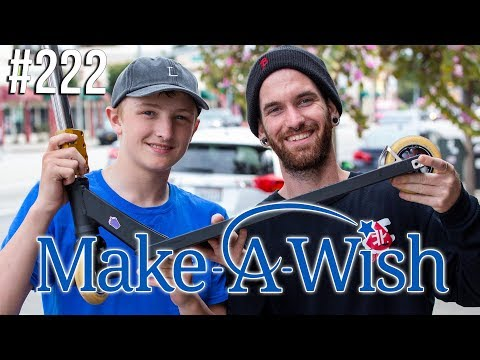 Custom Build #222 - Make-A-Wish │ The Vault Pro Scooters
