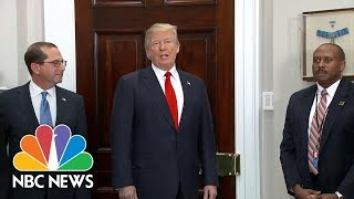 President Donald Trump Offers Preview To State Of The Union Address | NBC News