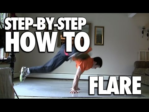How to Flare Tutorial (Breakdance Powermove)