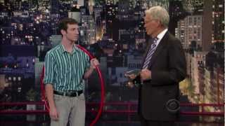 Pete Moyer on the Late Show with David Letterman