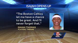 1 Minute Drill: Isaiah Thomas opens up about Celtics trade