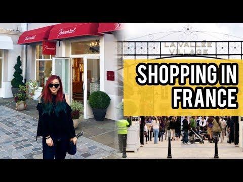 🇫🇷PARIS | Montmartre & SHOPPING In La Vallée Village / Val D'Europe (Raw Travel Vlog)