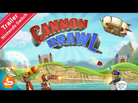 Cannon Brawl Nintendo Switch Launch Trailer - Coming Out this 14 April 2021