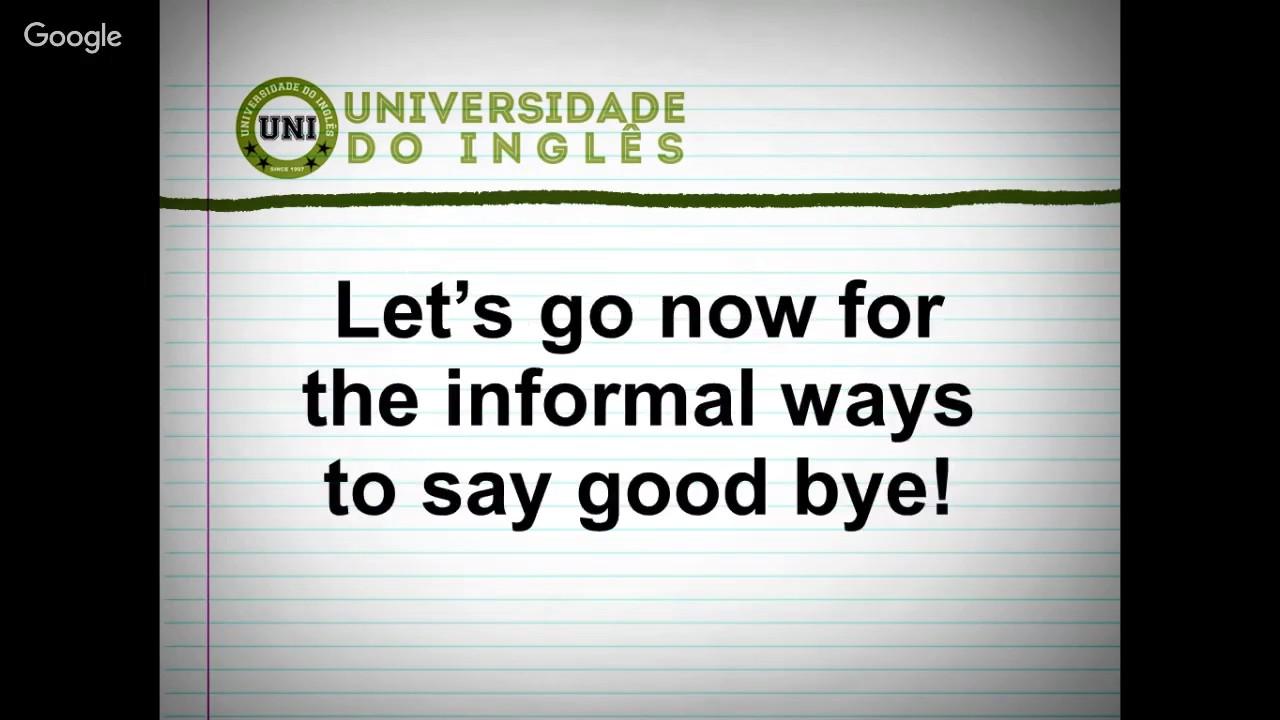 Frases Em Inglês: 15 Frases Para Dizer Adeus Em Inglês!!