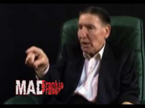Mad Frank threatens to kill interviewer