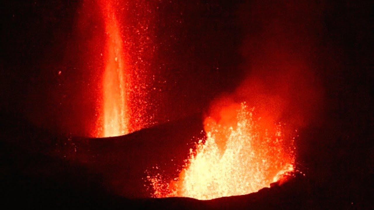 🚨 ÚLTIMA HORA: Volcán NO pierde FUERZA y la lava AVANZA (Erupción Volcánica La Palma) Noticias 2021