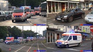 [Evakuierung St. Elisabethen-Krankenhaus] Teil 1 Einsatzfahrten am Krankenhaus