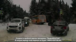 Аварии в Ханты-Мансийске 10.11.2016 г.