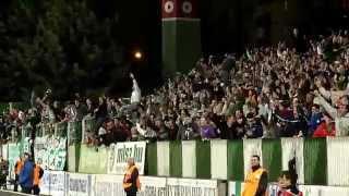 Haladás-FTC 2012-03-25, győztes gól (VOND)