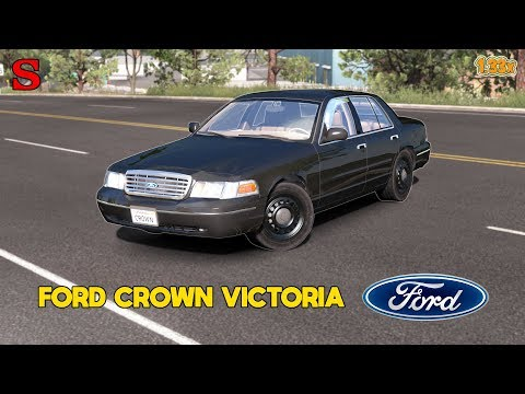 FORD CROWN VICTORIA [1.33x] - SiMoN3 ETS2 & ATS