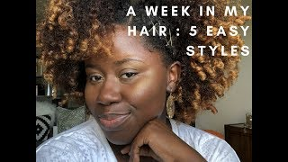 A week in my hair : Collab w/ Not Your Mothers