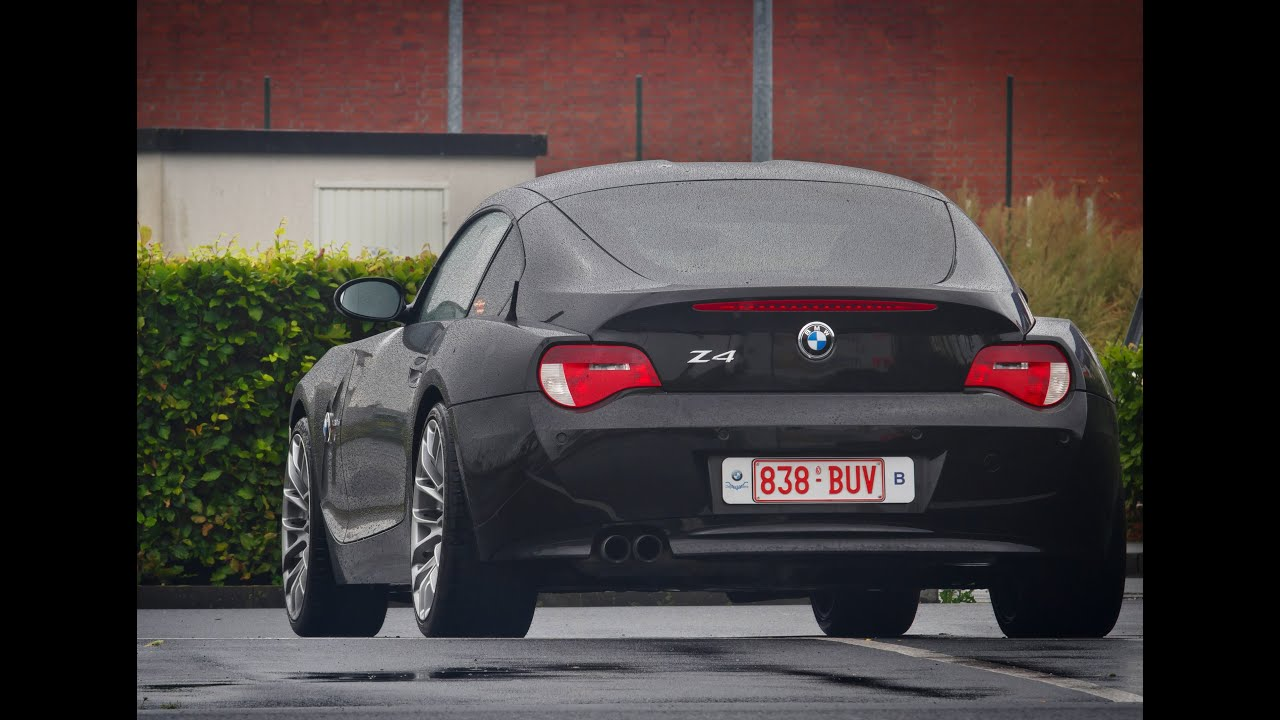 Bmw Z4 Coup 233 3 0si Youtube