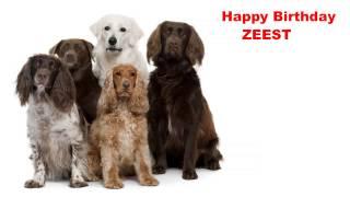 Zeest   Dogs Perros - Happy Birthday
