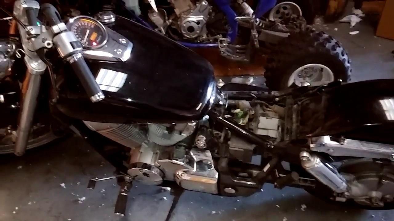 hot wire motorcycle 08 honda shadow aero 750 [ 1280 x 720 Pixel ]