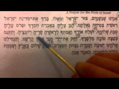 Learn To Recite The Prayer For State Of Israel