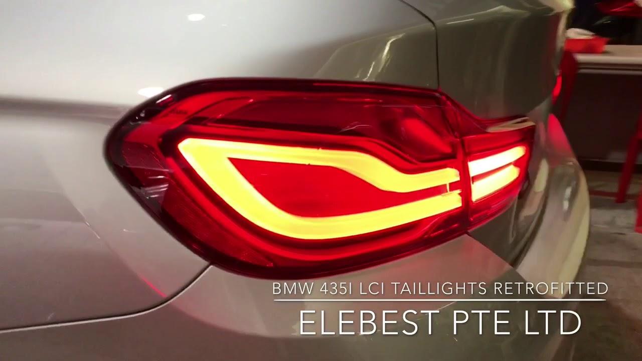 GENUINE BMW F36 4 SERIES RETROFIT WIRING HARNESS LCI TAIL LIGHTS 61126830782