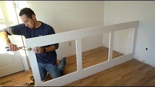 Building a Wainscot Unit - Interior Trim Work