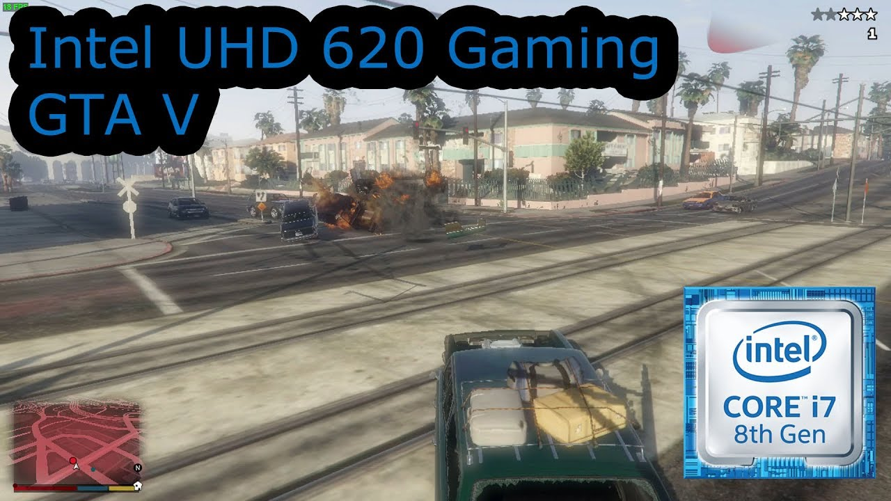 Intel Uhd  Gaming Gta V I U I U I U I U