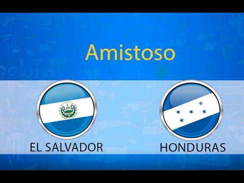 Honduras vs el salvador amistoso Honduras Deportes