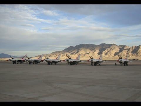The Thunderbirds Nov 2016 Nellis Air Force Base