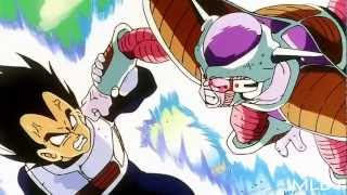 DBZ Vegeta vs Frieza (first form) [part 1/1] 【1080p HD】remastered