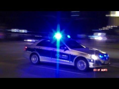 Polizei Hamburg in action auf der Reeperbahn Hamburg (HD)