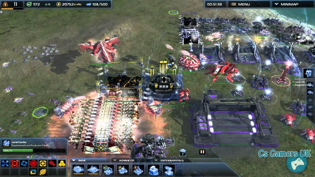 Supreme commander 2 matchmaking