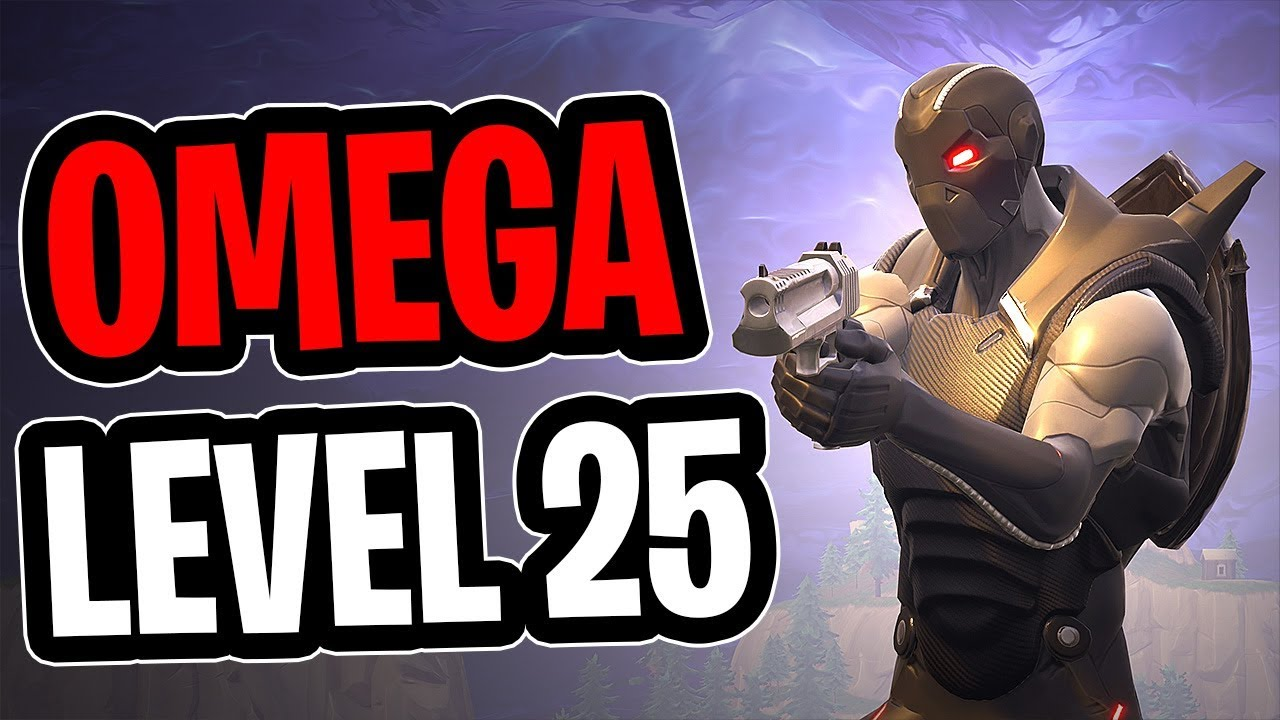 Omega Lvl 25 Armor Gameplay Fortnite Youtube