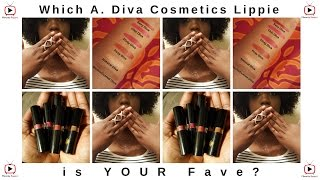 Minority Report | Which A. Diva Cosmetics Lippie is Your FAVE!?