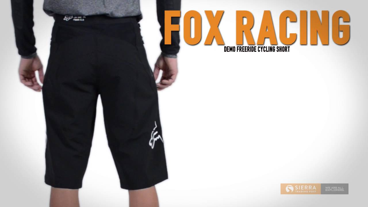 Fox Racing Demo Freeride Mountain Bike Shorts (For Men) - YouTube 5355a5b56