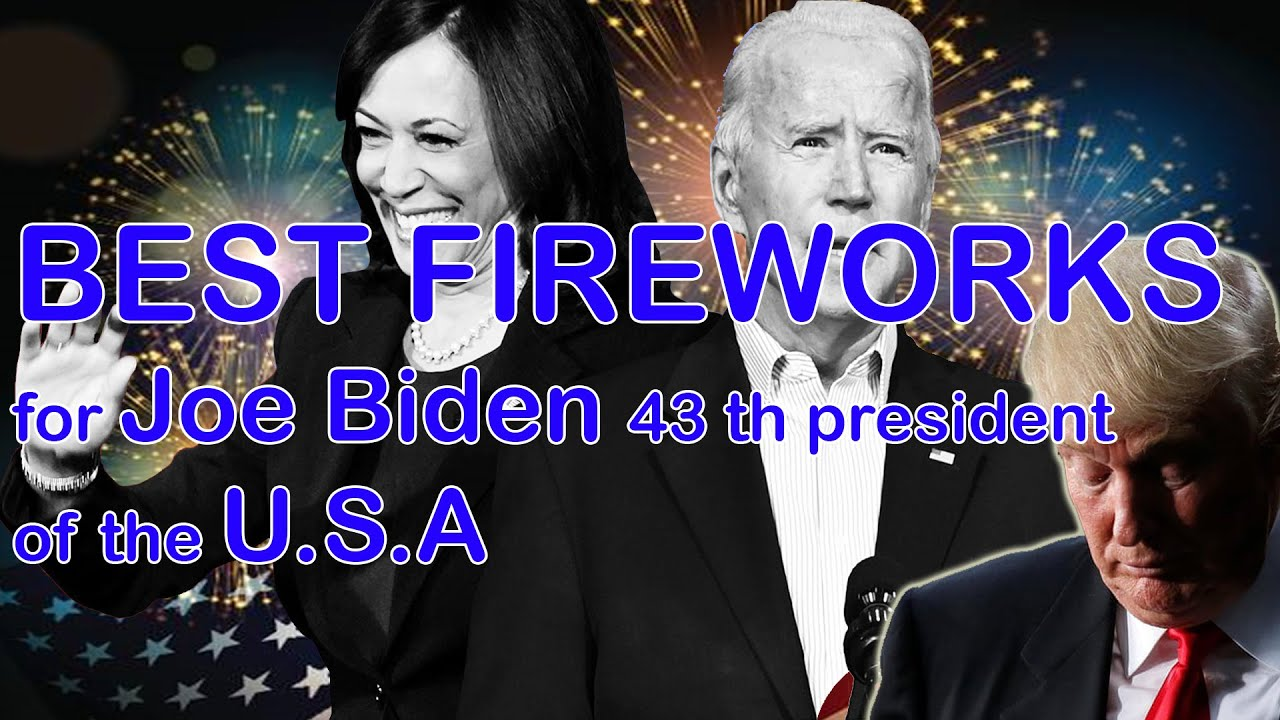BIG FIREWORKS SHOW for BIDEN President best fireworks. TRUMP LOST THE GAME