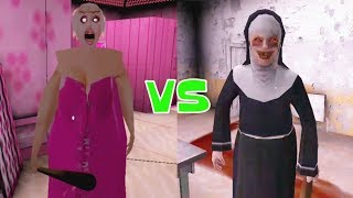 Barbie Granny vs The Nun