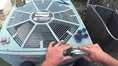 HVAC Service: No Cooling, Blank Thermostat Trane YCC - YouTube