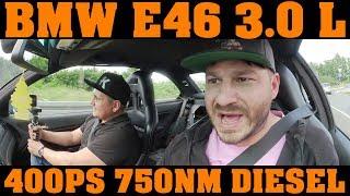 E46 - ein DIESEL MONSTER wird für die Nordschleife am Nürburgring auf 750nm optimiert!!! 🔧🔧🔧