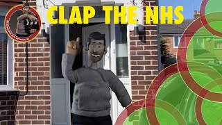 My Mini Me has a message | Clap the NHS | 2020