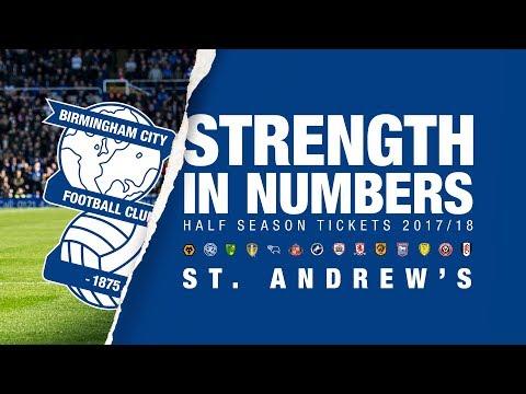Strength In Numbers | Half Season Tickets 17/18