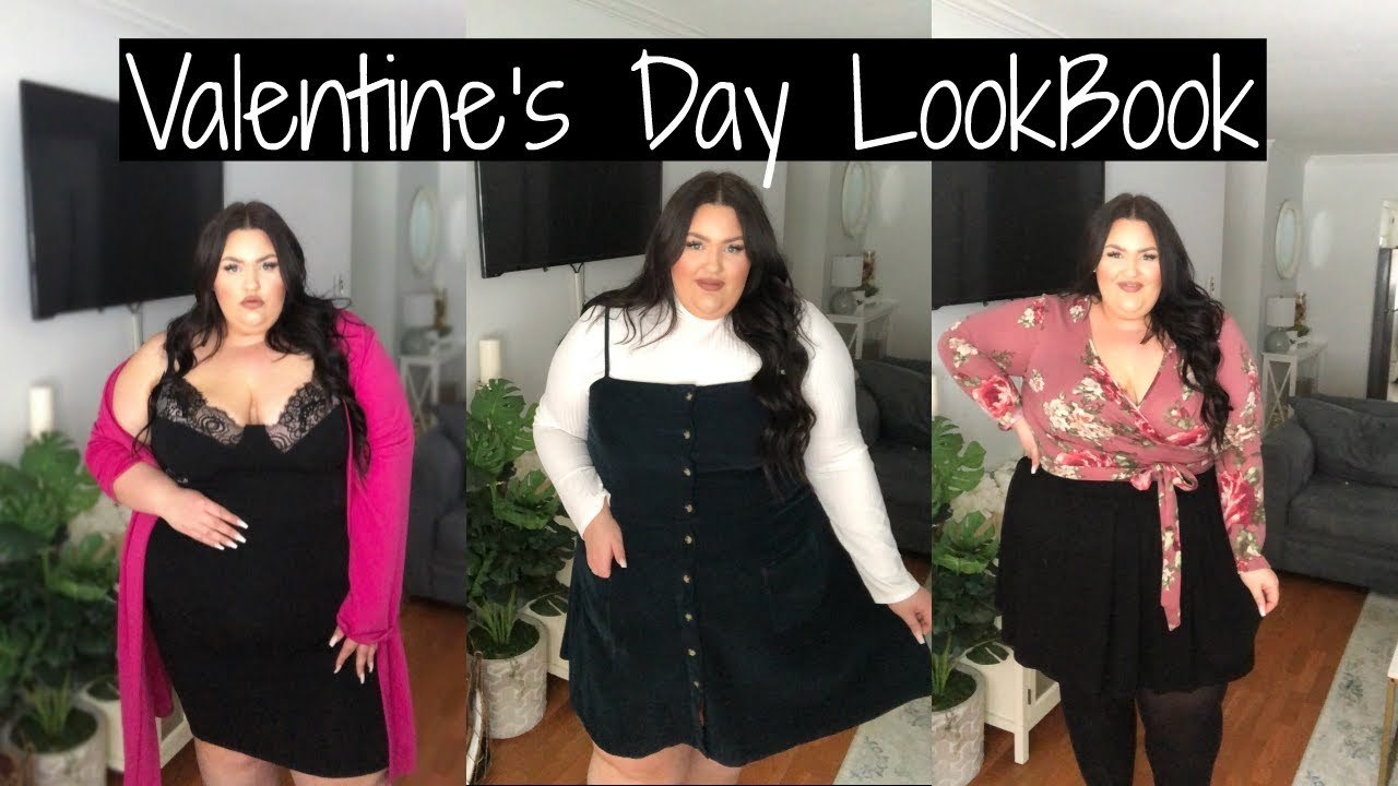 Plus Size Valentine\'s Day Outfit Ideas⎢2019 - YouTube
