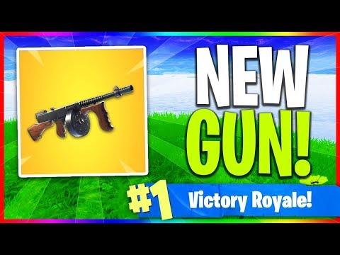 "🔴 NEW ""Drum Gun"" Gameplay in Fortnite! (Fortnite: Battle Royale LIVE Gameplay)"
