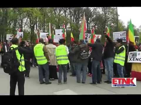Demonstration againest the murder in Libya and South Afirica,24 04 2015, Oslo