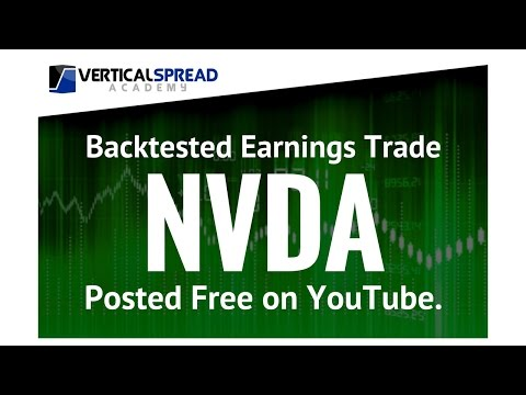 Credit Spreads Weekly Options | NVDA Earnings Option Trade