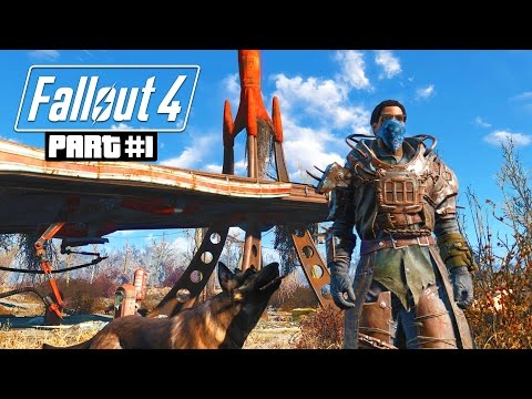 Fallout 4 Gameplay Walkthrough, Part 1 - NUCLEAR WASTELAND ADVENTURE! (Fallout 4 PC Ultra Gameplay)