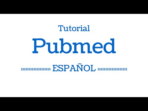 Tutorial Pubmed en Español 2014