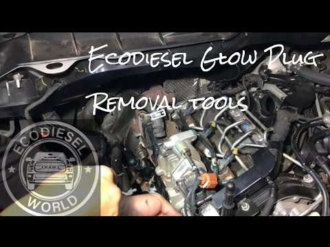How To Ecodiesel Glow Plug Removal Tools Youtube